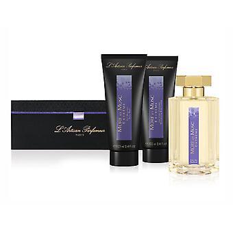 L'Artisan Parfumeur Mure Et Musc Extreme 3Pc GiftSet 3,4 Oz EDP BodyWash & lozione