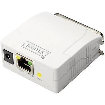 Digitus DN-13001-1 Network print server LAN (10/100 Mbps), Parallel (IEEE 1284)