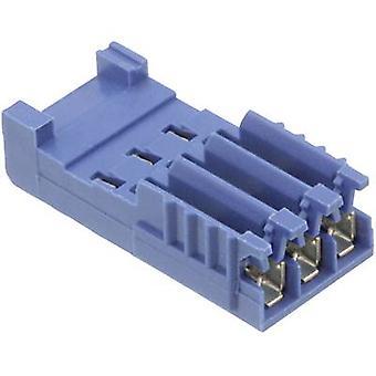 مأخذ التوصيل TE ضميمة-كبل أمبمودو HE14 مجموع دبابيس 3 تباعد الاتصال: pc(s) 281786-3 1 2.54 مم