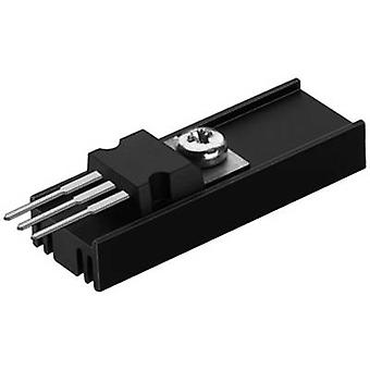 Heat sink 40 C/W (L x W x H) 25 x 12.6 x 6.5 mm TO 220 Fischer Elektronik SK 95 25 TO 220