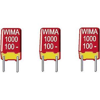 WIMA FKS3D021002B00KSSD 1 PC FKS Dünnschicht-Kondensator Radial führen 0,01 µF 100 Vdc 10 % 7,5 mm (L x b x H) 10 x 3 x 8,5 mm
