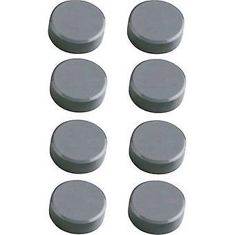 Maul Magnet MAULpro (Ø x H) 15 mm x 7 mm round, Facet edge
