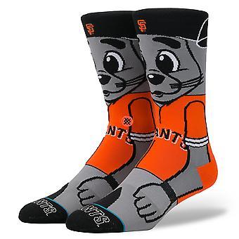Stance Lou Seal MLB Mascot Socks - Orange