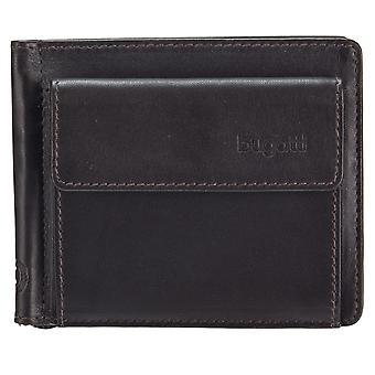 Bugatti Primo LEDER dollar clip money clip geld clip geld clip 491082