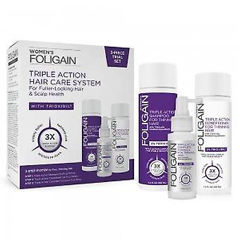 Trioxidil System for Women - 100ml Shampoo, 100ml Conditioner, 30ml Complete Formula