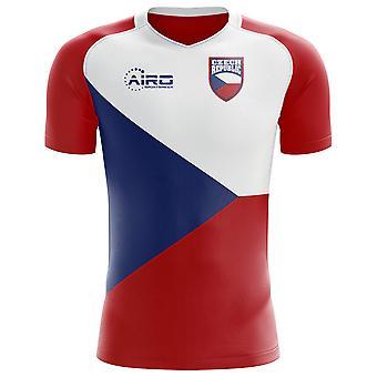 2018-2019 الجمهورية التشيكية مفهوم الوطن لكرة القدم قميص (الأطفال)