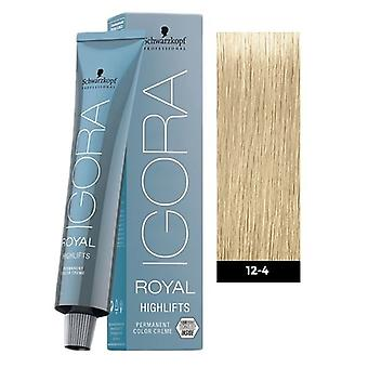 Schwarzkopf Igora Royal Highlifts 12-4 speciali biondo Beige 60ml
