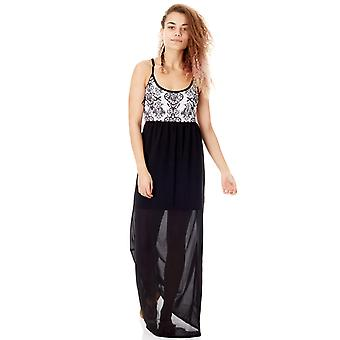 Metal Mulisha Black Divine Maxi Dress