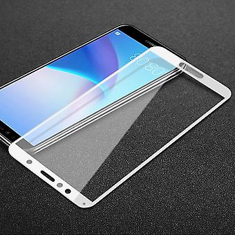 For Huawei Y5 2018 2 x 3D premium 0.3 mm H9 tempered glass white protective foil cover new