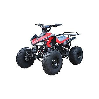 Cheetah 110cc Quad Bike With 8 Inch Fat Boi Tyres Red