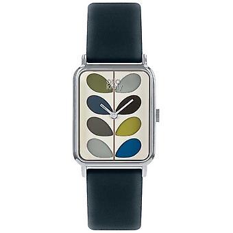 オーラ ・ カイリー |レディース |小さな幹ダイヤル |ネイビー ブルーのストラップ |OK2241 時計
