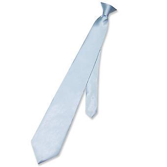Biagio CLIP-ON halsduk Solid mäns hals slips