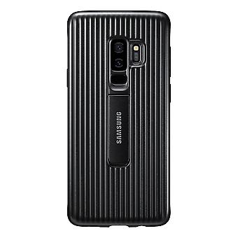 Samsung Galaxy S9 Plus Protective Standing Cover - Svart