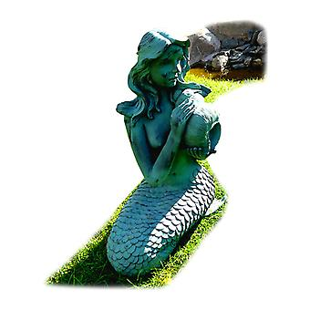 Mermaid, fountain for the garden 29x26x53 cm