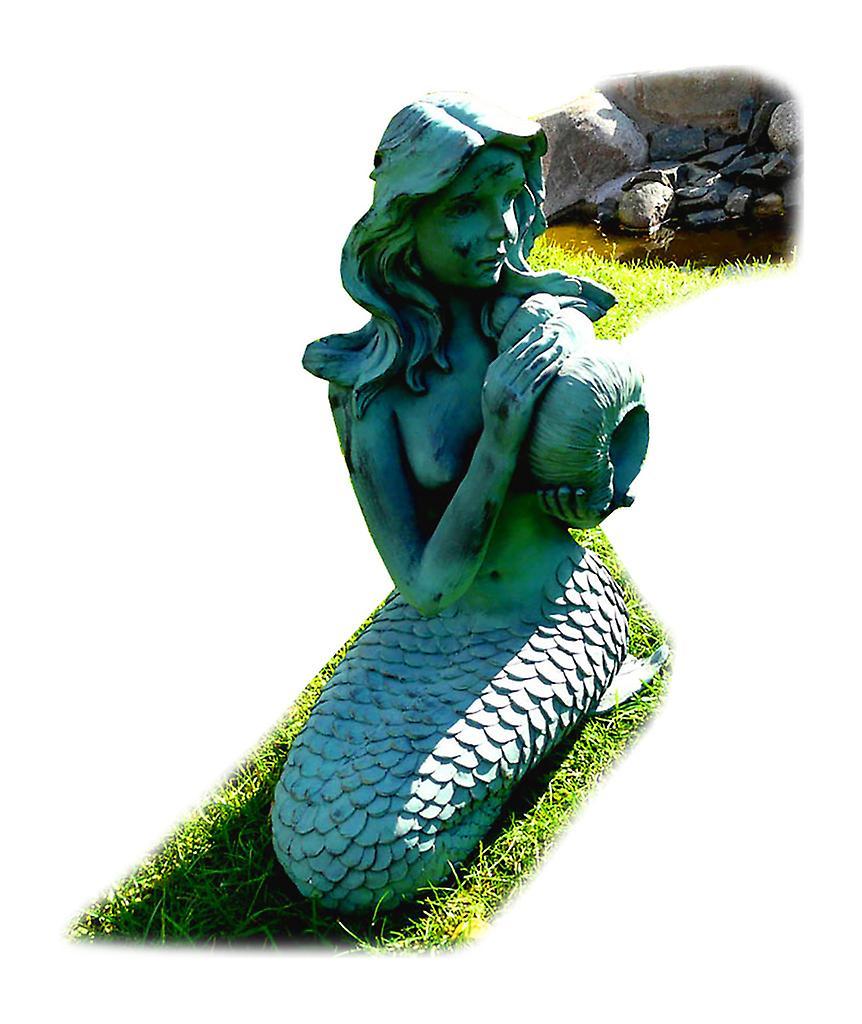 Sirène, fontaine de jardin 29 x 26 x 53 cm