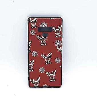 Samsung Note 9 Beutel-Weihnachten-Rudolf Rednose-rot