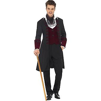Fever Gothic Vamp Costume, Chest 38