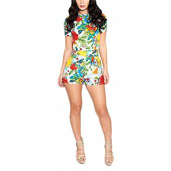 Waooh - Playsuit flower pattern Eacriv
