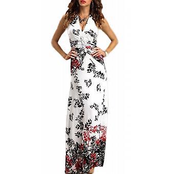 Waooh - gedruckt lange Sommerkleid floral Drai