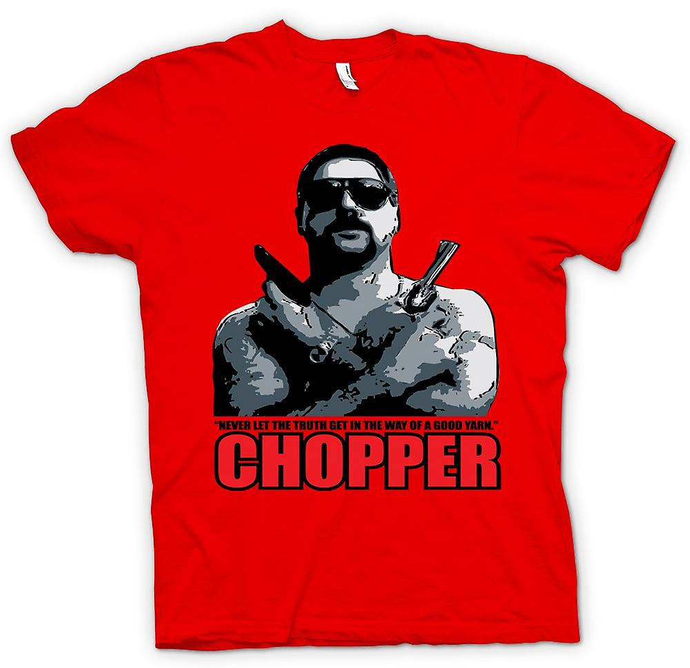 Heren T-shirt - Chopper - Reid goed garen - Movie - Comedy