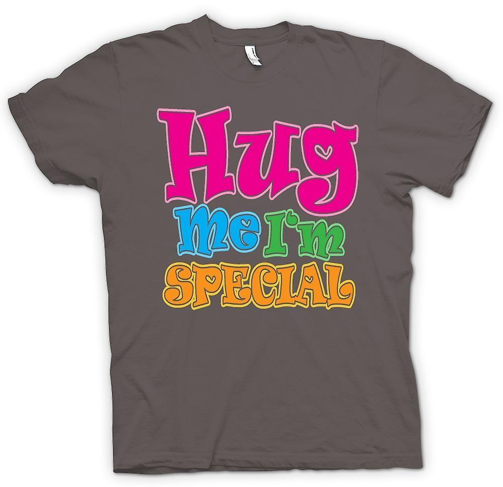 T-shirt des hommes - Hug Me Je suis spécial - Drôle