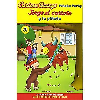 Curious George Pinata Party Bilingual