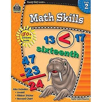 Compétences en mathématiques, Grade 2 [avec 180 + autocollants] (prêts-ensemble-apprendre)