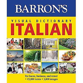 Barron's Visual Dictionary: italienska: för hem, företag och resor (Barrons visuella ordlistor)