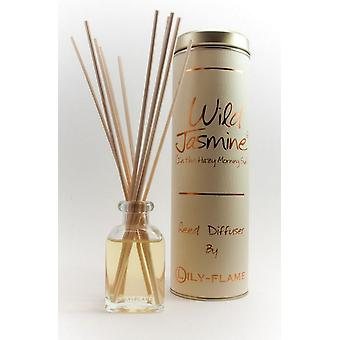 Lily Flame Scented Reed Diffuser - Wild Jasmine