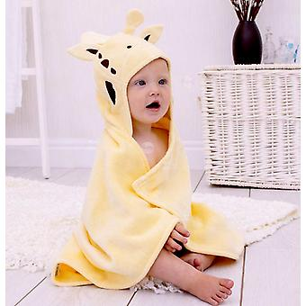 Jolly Giraffe baby towel gift set