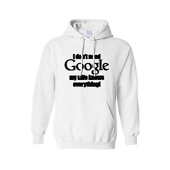 Unisex I Don't Need Google Wife Knows Everything! Pullover HOODIE
