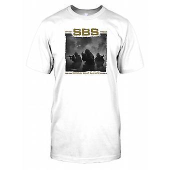 SBS - serwis specjalny łodzi wdrożony koszulki męskie