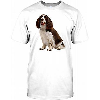 Springer Spaniel Working Dog - Pedigree Mens T Shirt