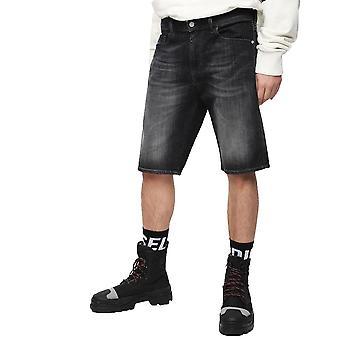 Diesel Thoshort 087AM Dark  Denim Washed Shorts