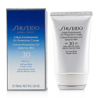Shiseido Urban Environment UV Protection Cream SPF 30 (For Face & Body) - 50ml/1.8oz