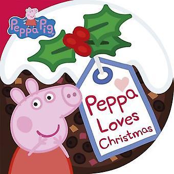 Peppa Loves Christmas - 9780241279601 Book