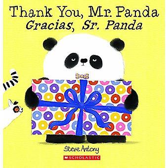 Thank You - Mr. Panda / Gracias - Sr. Panda by Steve Antony - 9780606
