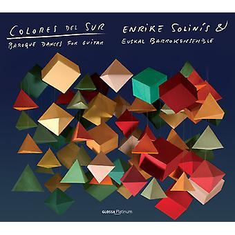 Sanz/Murcia/Scarlatti/Kapsberger - Colores Del Sur: Baroque Dances for Guitar [CD] USA import