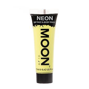 Moon Glow - 12ml Neon UV Face & Body Paint - Pastel Yellow