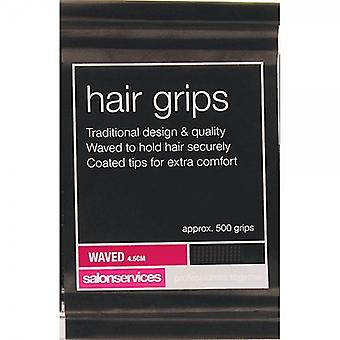 Salon Services Classic Waved Hair Grips - 4.5cm Blonde