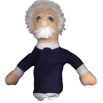 Fingerpuppe - UPG - Albert Einstein Soft Doll Spielzeug Geschenke lizenziert neu 0148
