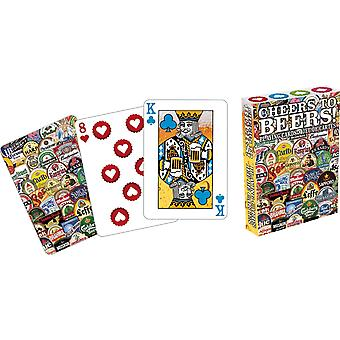 Carta da gioco - Applausi a Beers Gioco Poker Licensed Gifts Toys 52215