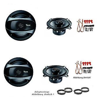 Mazda 626, Lautsprecher Einbauset, Tür vorne und hinten