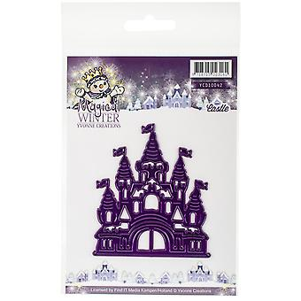 Find It Trading Yvonne Creations Die-Castle, Hiver magique