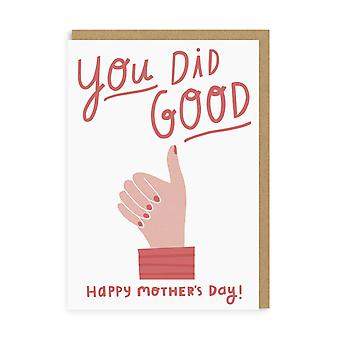 oh Deer You Did Good Mothers Day Card Oh Deer You Did Good Mothers Day Card Oh Deer You Did Good Mothers Day Card Oh De