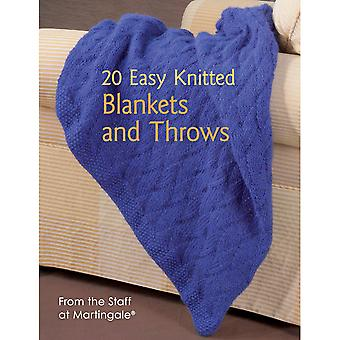 Martingale & Company 20 Easy Knitted Blankets & Throws Mg B1203