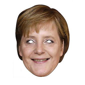 Angela Merkel German Chancellor Card Party Face Mask