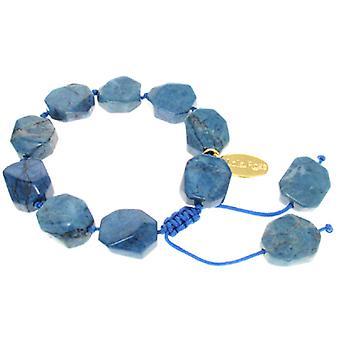 Lola Rose Neva Armband Himmelblau Magnesit