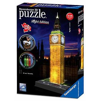 Ravensburger 3D Light Big Ben Puzzle 39 Cm 216 Pieces