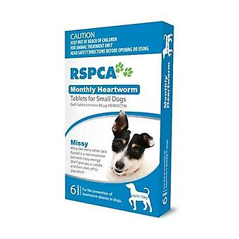 RSPCA Heartworm Tabs Small Dog (6)